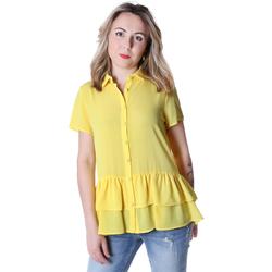 Textil Ženy Košile / Halenky Fracomina FR20SP039 Žlutá