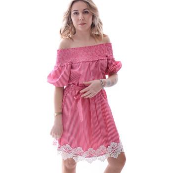 Textil Ženy Krátké šaty Fracomina FR20SP526 Červené