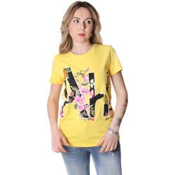 Textil Ženy Trička s krátkým rukávem Fracomina FR20SP368 Žlutá
