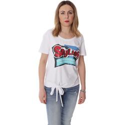 Textil Ženy Trička s krátkým rukávem Fracomina FR20SP303 Bílý