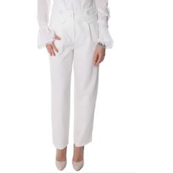 Textil Ženy Mrkváče Fracomina FR20SP164 Bílý