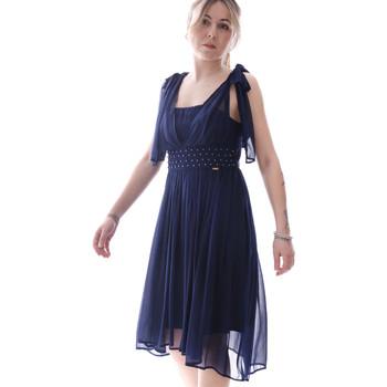 Textil Ženy Krátké šaty Fracomina FR20SP599 Modrý