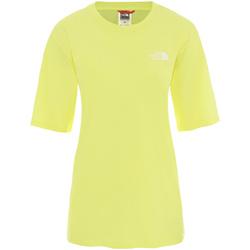 Textil Ženy Trička s krátkým rukávem The North Face NF0A4CESVC51 Žlutá