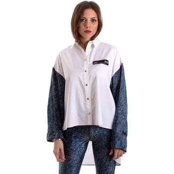 Textil Ženy Košile / Halenky Versace B0HVB606S0683904 Bílý