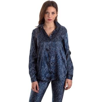 Textil Ženy Košile / Halenky Versace B0HVB601S0683904 Modrý