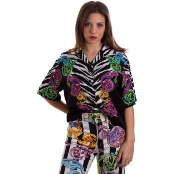 Textil Ženy Košile / Halenky Versace B0HVB604S0793983 Černá