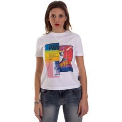 Textil Ženy Trička s krátkým rukávem Versace B2HVB7V630331003 Bílý