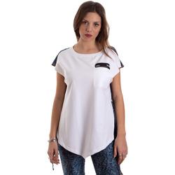 Textil Ženy Trička s krátkým rukávem Versace D3HVB657S0683904 Bílý