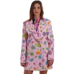 Textil Ženy Saka / Blejzry Versace C2HVB507SN75SK69 Růžový