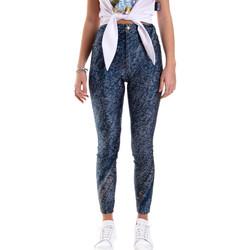 Textil Ženy Legíny Versace A1HVB009S0684904 Modrý
