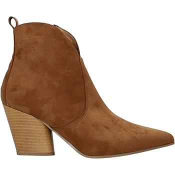 Boty Ženy Polokozačky Grace Shoes 7241007 Hnědý