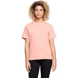 Textil Ženy Trička s krátkým rukávem Fila 687469 Růžový
