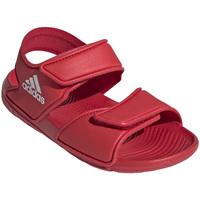 Boty Děti Sportovní sandály adidas Originals EG2136 Červené