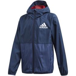 Textil Děti Bundy adidas Originals FM6447 Modrý
