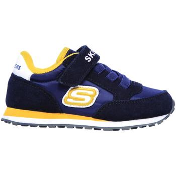 Boty Děti Nízké tenisky Skechers 97366N Modrý