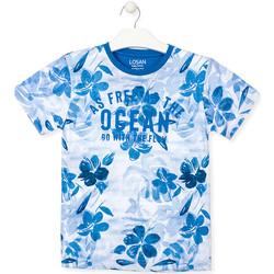 Textil Chlapecké Trička s krátkým rukávem Losan 013-1003AL Modrý