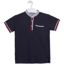 Textil Chlapecké Polo s krátkými rukávy Losan 013-1791AL Modrý