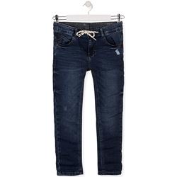 Textil Děti Rifle slim Losan 013-6021AL Modrý