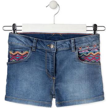 Textil Děti Kraťasy / Bermudy Losan 014-6010AL Modrý