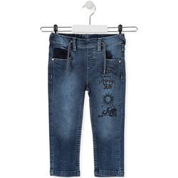 Textil Děti Rifle slim Losan 015-6023AL Modrý