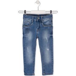Textil Děti Rifle slim Losan 015-9008AL Modrý
