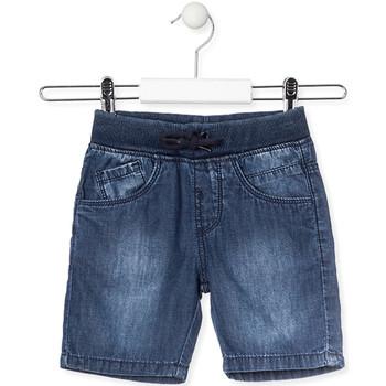 Textil Děti Kraťasy / Bermudy Losan 015-9659AL Modrý