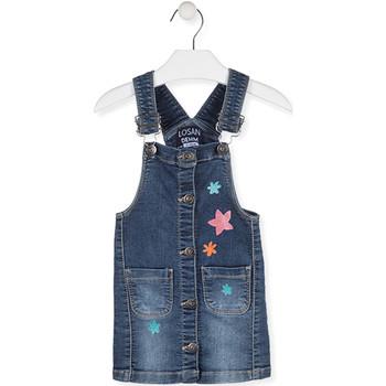 Textil Děti Overaly / Kalhoty s laclem Losan 016-7000AL Modrý