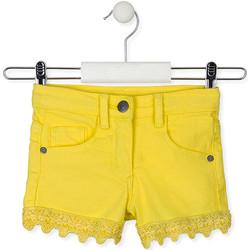 Textil Děti Kraťasy / Bermudy Losan 016-9001AL Žlutá