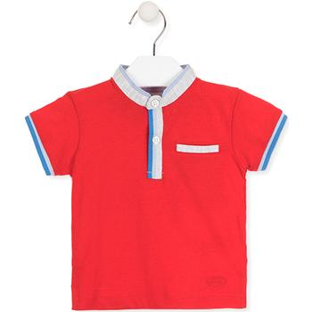 Textil Děti Polo s krátkými rukávy Losan 017-1791AL Červené