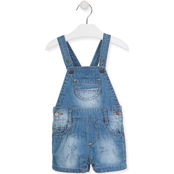 Textil Děti Overaly / Kalhoty s laclem Losan 017-9006AL Modrý