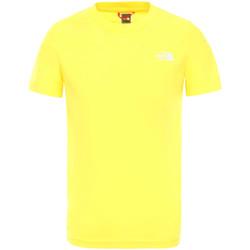 Textil Děti Trička s krátkým rukávem The North Face NF0A2WANDW91 Žlutá