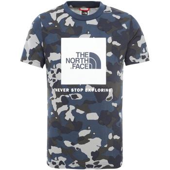 Textil Děti Trička s krátkým rukávem The North Face NF0A3BS2M7Z1 Modrý