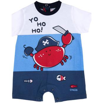 Textil Chlapecké Overaly / Kalhoty s laclem Chicco 09050813000000 Modrý