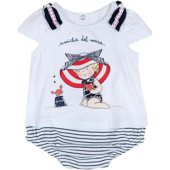Textil Dívčí Overaly / Kalhoty s laclem Chicco 09050711000000 Bílý
