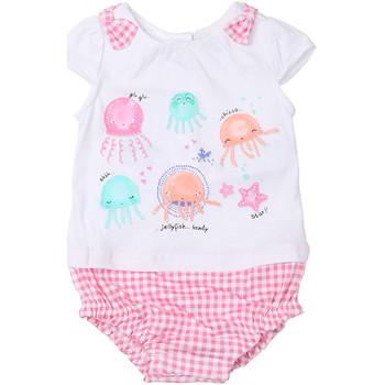 Textil Dívčí Overaly / Kalhoty s laclem Chicco 09050812000000 Bílý