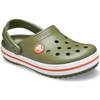 Boty Děti Pantofle Crocs 204537 Zelený