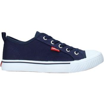 Boty Děti Nízké tenisky Levi's VORI0005T Modrý