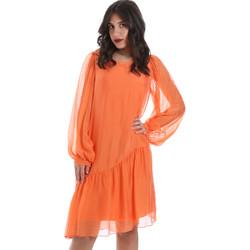 Textil Ženy Krátké šaty Gaudi 011BD15035 Oranžový