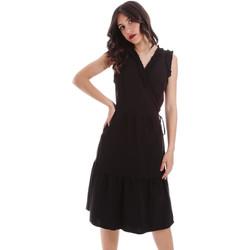 Textil Ženy Krátké šaty Gaudi 011BD15037 Černá