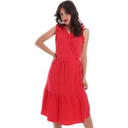 Textil Ženy Krátké šaty Gaudi 011BD15037 Červené
