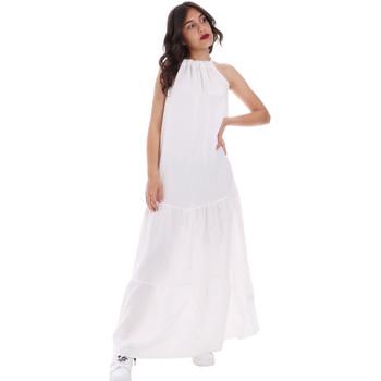 Textil Ženy Společenské šaty Gaudi 011FD15073 Bílý
