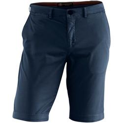 Textil Muži Kraťasy / Bermudy Lumberjack CM80647 002 602 Modrý