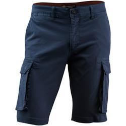 Textil Muži Kraťasy / Bermudy Lumberjack CM80747 002 602 Modrý