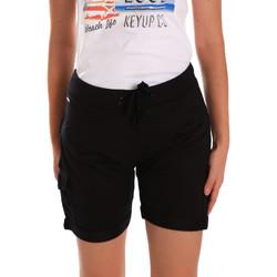 Textil Ženy Kraťasy / Bermudy Key Up 5G75F 0001 Černá
