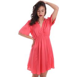 Textil Ženy Krátké šaty Gaudi 011FD15061 Růžový