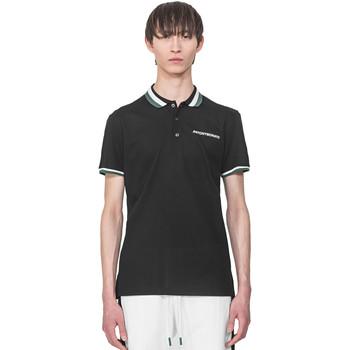 Textil Muži Polo s krátkými rukávy Antony Morato MMKS01713 FA100083 Černá