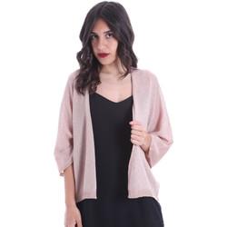 Textil Ženy Svetry / Svetry se zapínáním Gaudi 011FD53010 Růžový