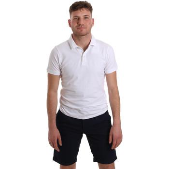 Textil Muži Polo s krátkými rukávy Sseinse ME1517SS Bílý
