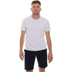 Textil Muži Trička s krátkým rukávem Sseinse ME1566SS Bílý