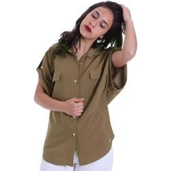 Textil Ženy Košile / Halenky Gaudi 011BD45030 Zelený